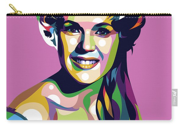 Connie Stevens Carry-all Pouch