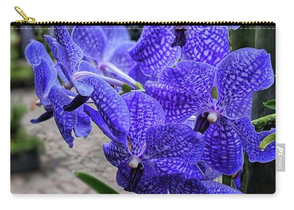 Deep Purple Orchid Carry-all Pouch