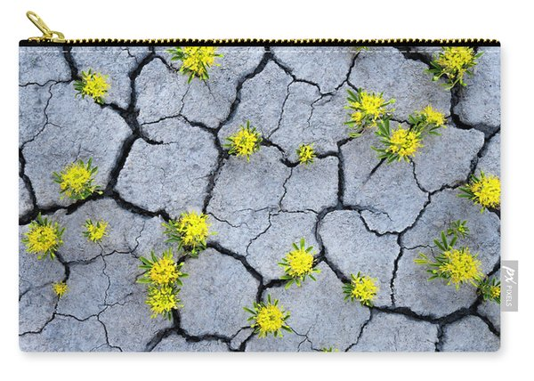 Desert Flowers Carry-all Pouch