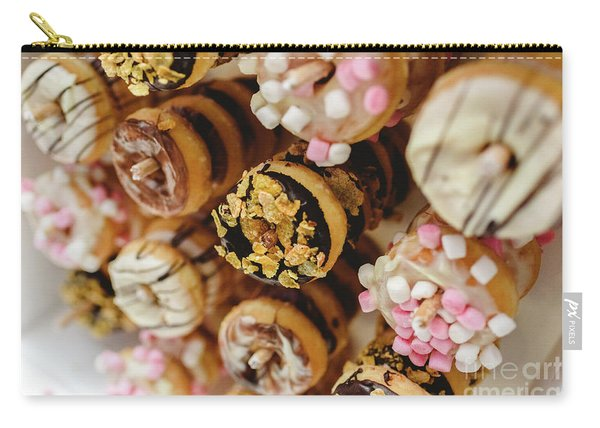 Donuts Of Different Flavors, To Put On An Unhealthy Diet Carry-all Pouch