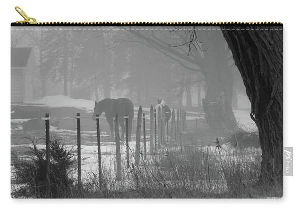 Down The Lane Carry-all Pouch