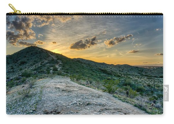 Dramatic Mountain Sunset  Carry-all Pouch
