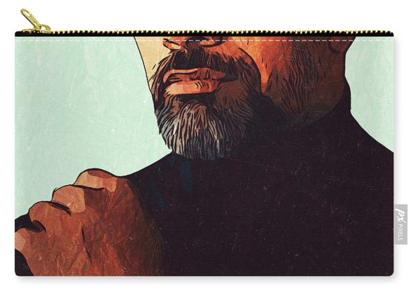 Dwayne Johnson Artwork Carry-all Pouch