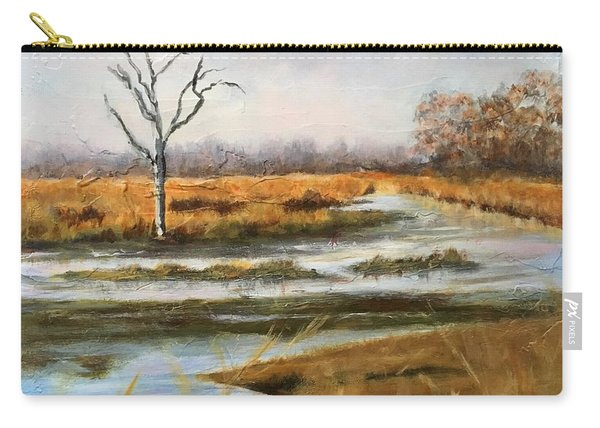 Early Spring On The Marsh Carry-all Pouch