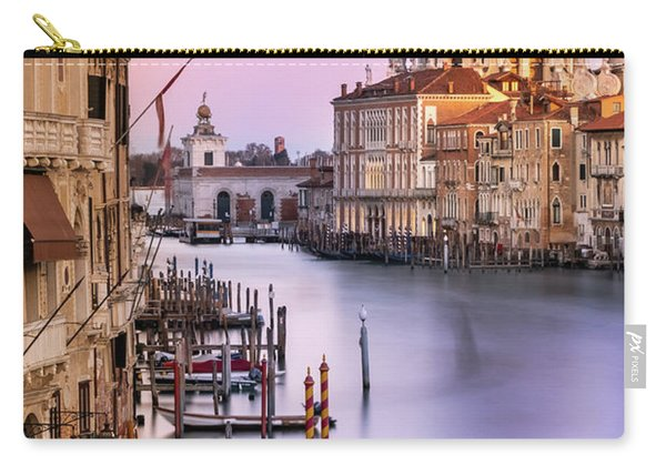 Evening Light In Venice Carry-all Pouch