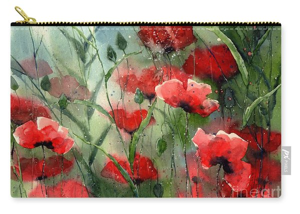 Everything About Poppies Carry-all Pouch