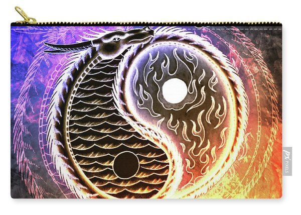 Fire And Ice  Carry-all Pouch