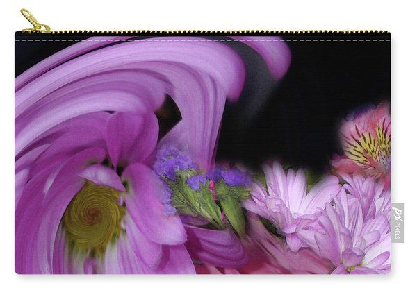 Floral Tsunami Carry-all Pouch