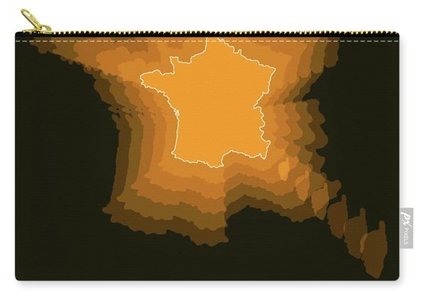 France Radiant Map 2 Carry-all Pouch
