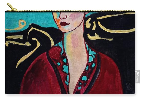 Frida Kahlo. Carry-all Pouch