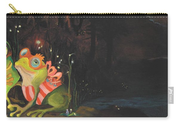 Frogs Of Silver Lake Carry-all Pouch