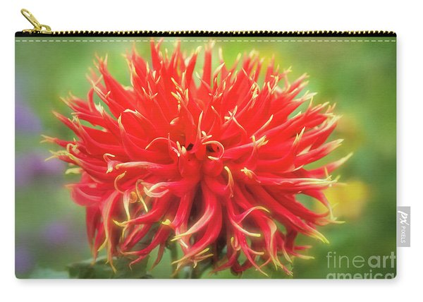 Glorious Sho-n-tell Dahlia Carry-all Pouch