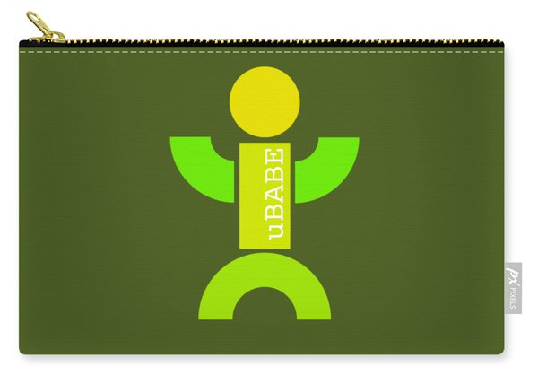 Green Style Carry-all Pouch