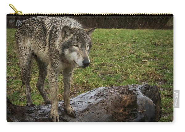 Hangin On The Log Carry-all Pouch