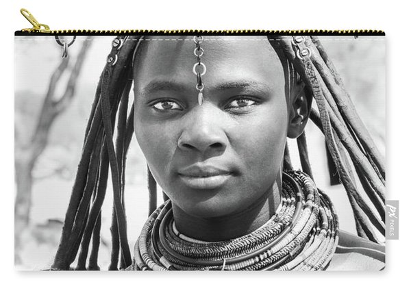 Himba Girl Carry-all Pouch