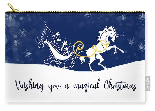 Holiday Magic Quote Carry-all Pouch