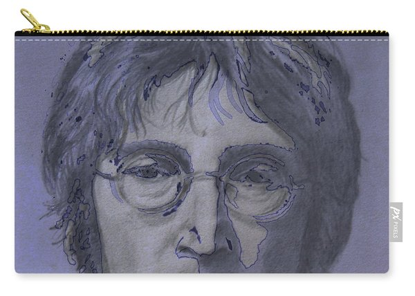 John Lennon Re-imagined Carry-all Pouch