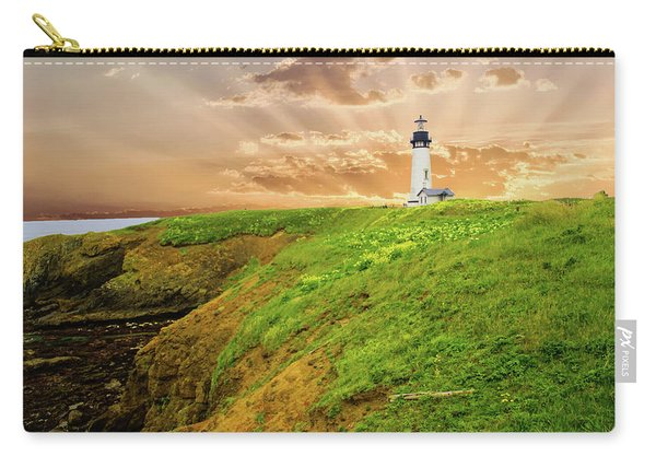 Lighthouse On  Yaquina Head  Carry-all Pouch