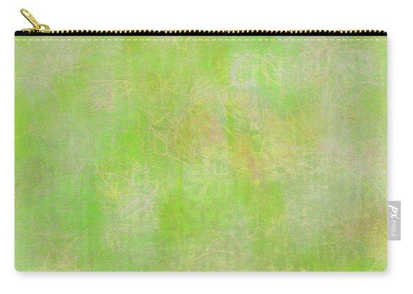 Lime Batik Print Carry-all Pouch