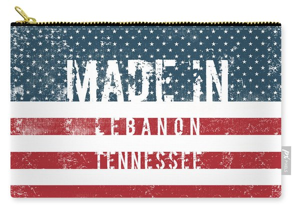 Made In Lebanon, Tennessee Carry-all Pouch