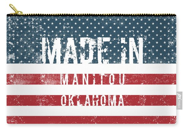 Made In Manitou, Oklahoma Carry-all Pouch