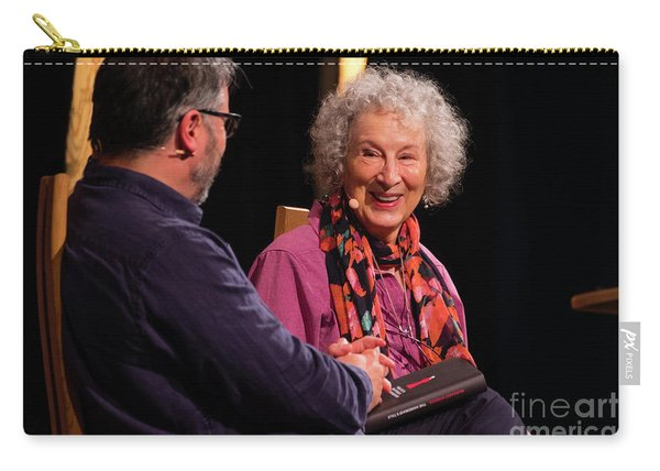 Margaret Atwood At The Hay Festival 2018 Carry-all Pouch