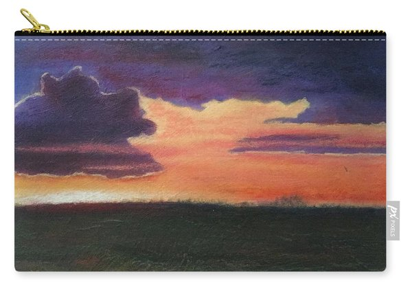 Marsh Sunset Carry-all Pouch