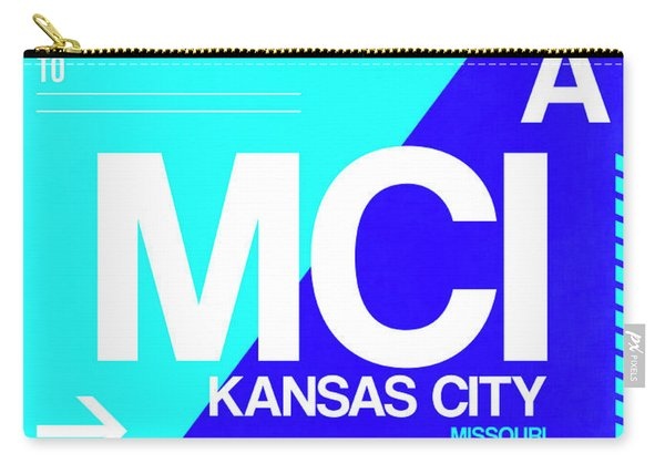 Mci Kansas City Luggage Tag I Carry-all Pouch