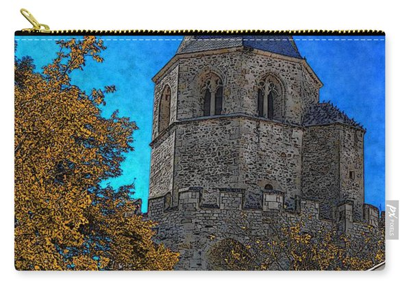 Medieval Bell Tower 6 Carry-all Pouch