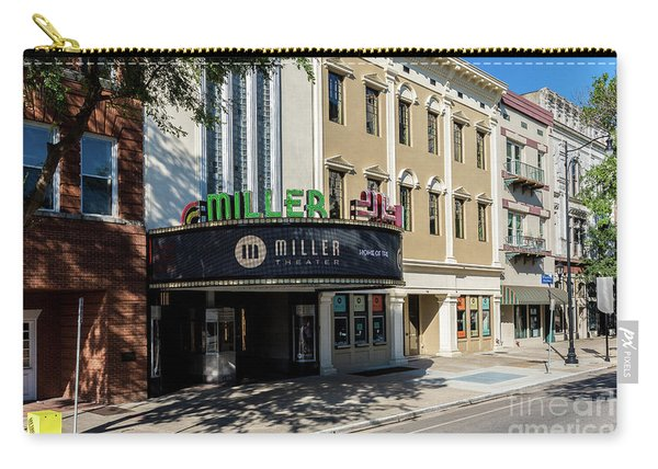 Miller Theater Augusta Ga Carry-all Pouch