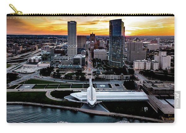 Milwaukee Sunset Carry-all Pouch