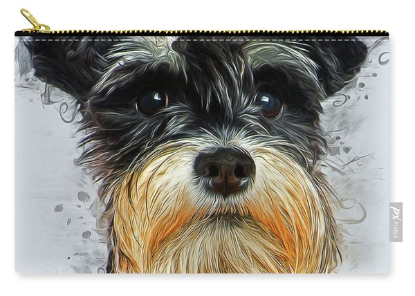 Miniature Schnauzer Carry-all Pouch