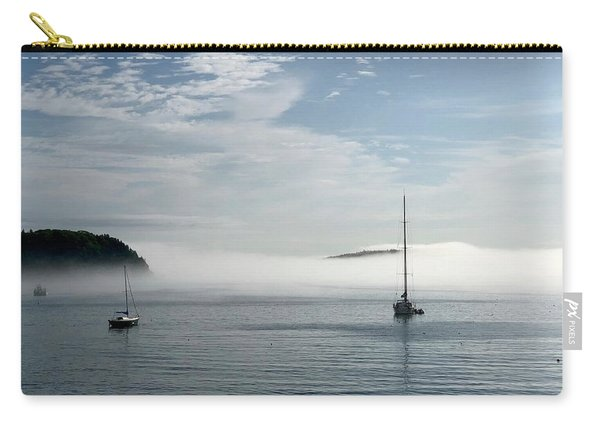 Morning Mist On Frenchman's Bay Carry-all Pouch