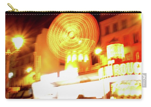 Carry-all Pouch featuring the photograph Moulin Rouge by Edward Lee