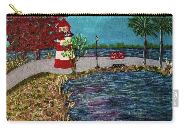 Mount Dora Lighthouse Carry-all Pouch