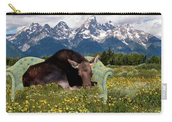 Nap Time In The Tetons Carry-all Pouch