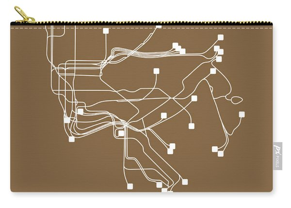 New York Subway Map I Carry-all Pouch