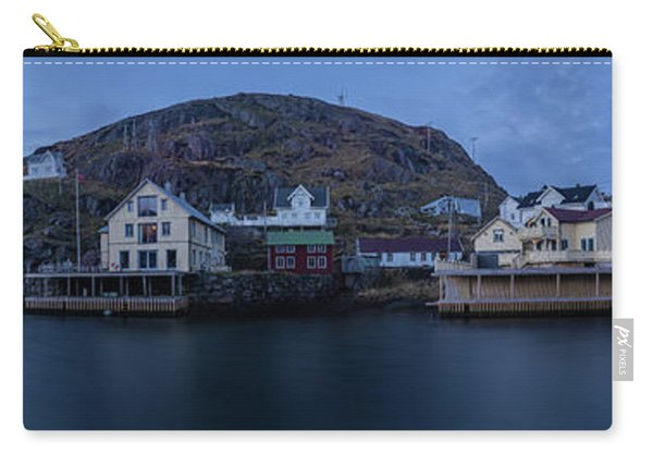 Norwegian Seaside Town Nyksund Carry-all Pouch