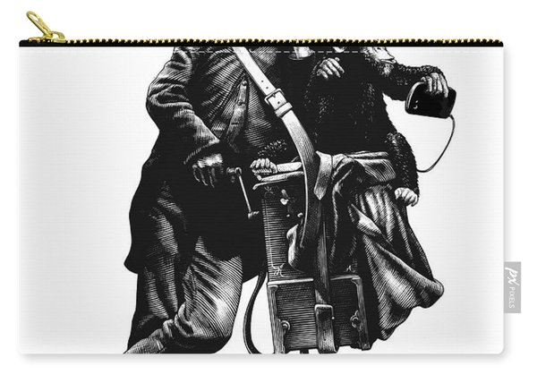Organ Grinder Carry-all Pouch