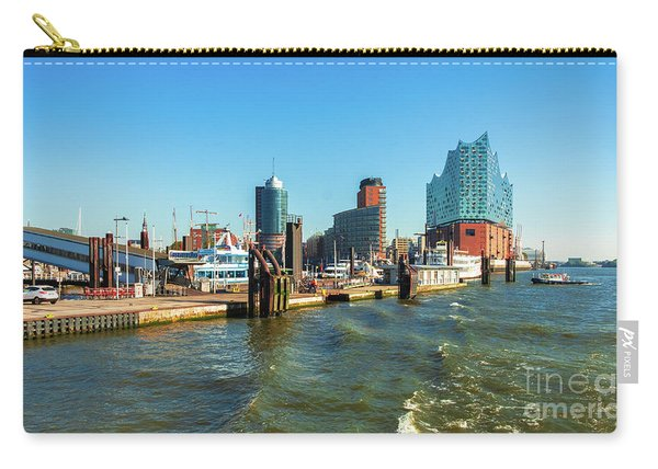 Panoramic View Of Hamburg. Carry-all Pouch