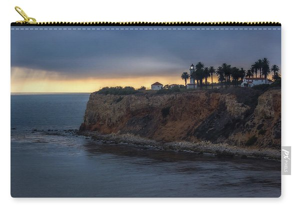 Point Vicente Lighthouse At Sunset Carry-all Pouch