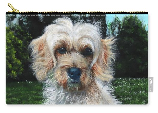 Portrait Of Toffee Carry-all Pouch