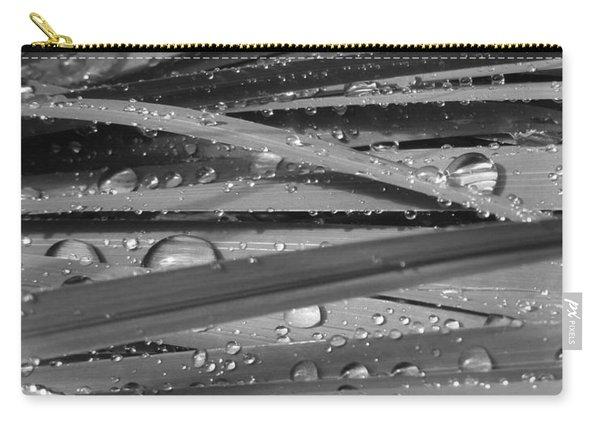 Rain On Siberian Iris Carry-all Pouch