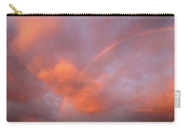 Rainbow In Sky Carry-all Pouch