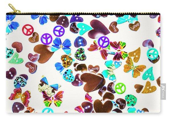 Rainbow Love Carry-all Pouch