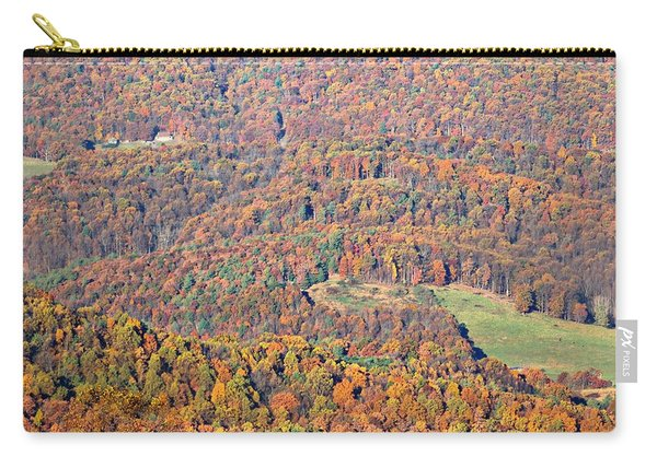 Carry-all Pouch featuring the photograph Rainbow Valley by Candice Trimble