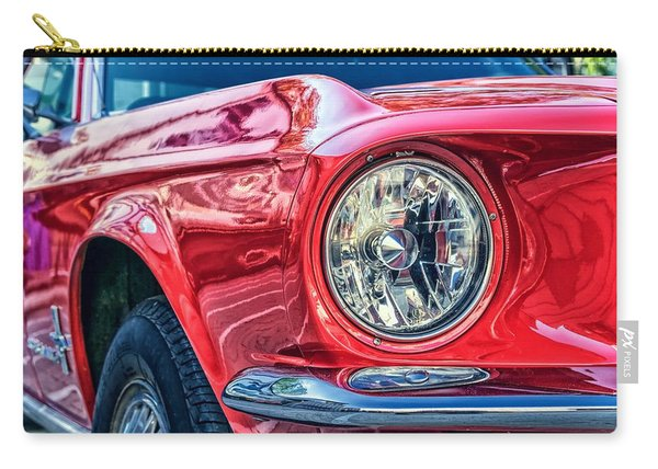 Red Vintage Car Carry-all Pouch