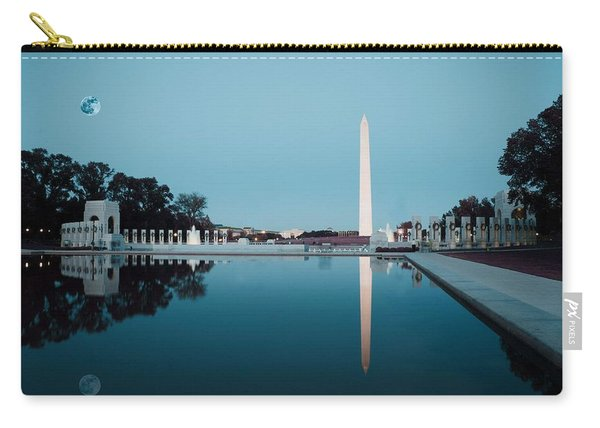Reflection Of The Washington Monument In The Pool At Pool At The National Mall. Original Image From  Carry-all Pouch