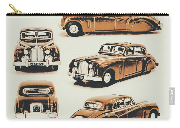 Retro Rides Carry-all Pouch