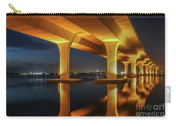 Carry-all Pouch featuring the photograph Roosevelt Reflection by Tom Claud